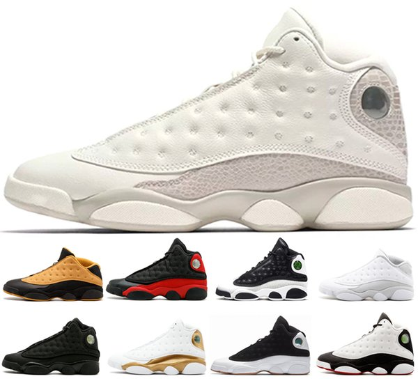 online retailer a76e2 2f1b1 New white He Got Game 13 men basketball shoes 13s black red ...