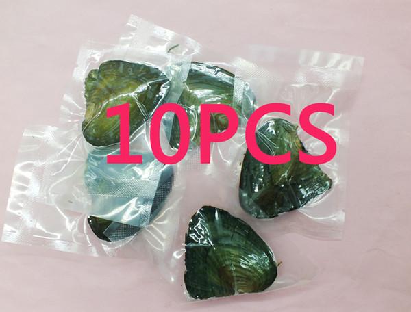 10 ШТ. Бесплатная доставка, Вакуумный пакет Oyster Wish Пресноводный Жемчуг (устричный жемчужный цвет не уверен) 6 ММ Жемчуг