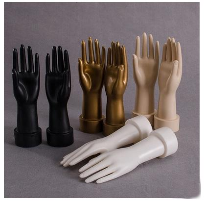 Free Shipping!!High Quality Realistic Plastic Male Mannequin Dummy Hand For Gloves&Watch &Ring & Jewelry Display Manikin Heads