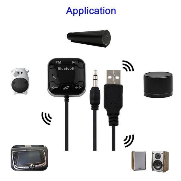 BT-760 Wireless Bluetooth Handsfree Car Kit FM Transmitter MP3 Player Charger
