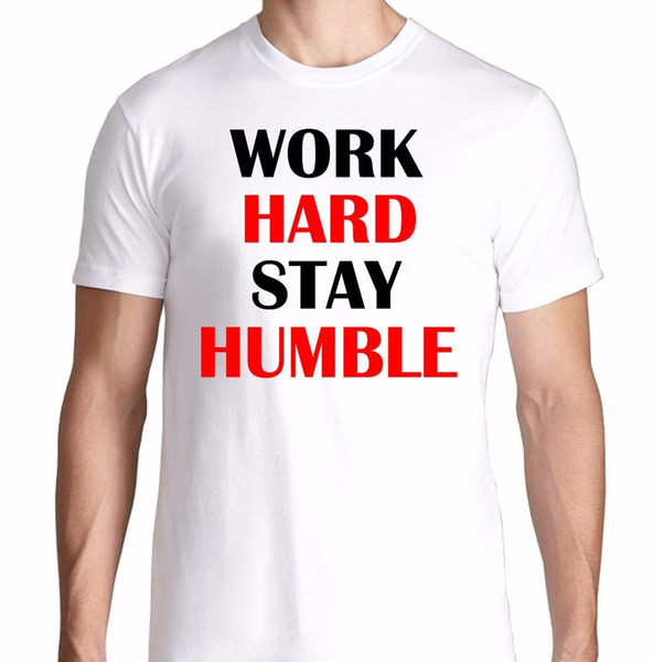 Shirt Design Crew Neck Short Work Hard Stay Humble Train Train Flex Lifting T Shirt Wholesale Men's Tee Shirts