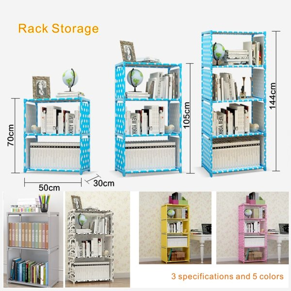 New space saving Rack Storage It can store books, shoes and sundries. It is very practical.