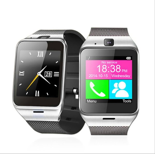 GV18 NFC A Plus Bluetooth Smart Watch Aplus Smartwatch Wearable Wristwatch Call Reminder Remote Camera For iPhone Samsung Smartphone DZ09
