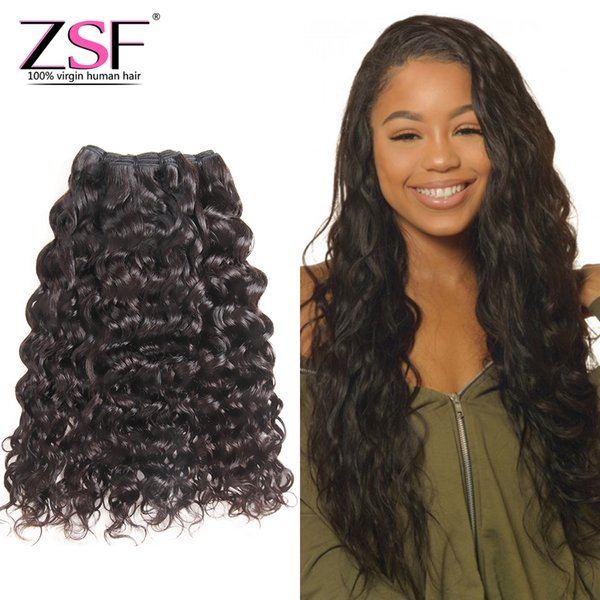 ZSF 8A Best Price Unprocessed Natural Wave Human Hair Bundles Brazilian Human Hair 3 Bundles Hair Extensions