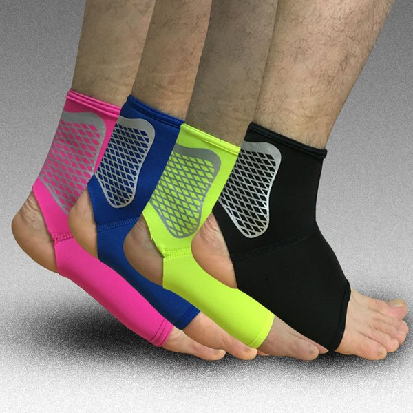 1Pcs Sport Ankle Support Elastic High Protect Sports Ankle Equipment Safety Running Basketball Football Support Brace