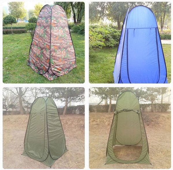Portable Outdoor Shower Bath Shower Tents Changing Fitting Room Tent Shelter Camping Beach Privacy Toilet Tent for Camping