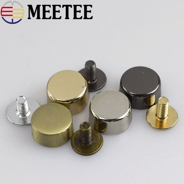 New Arrival Combined Button Plating Eco-friendly Nickel-free Tacks Nail-face Screw Box Bag Hardware Accessories