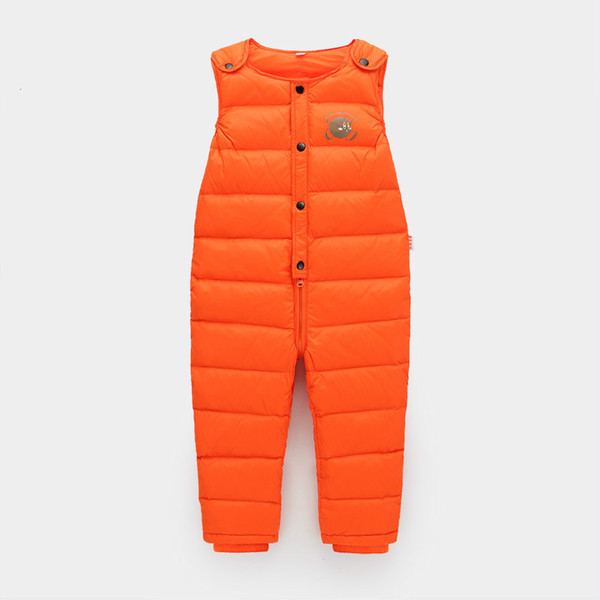 2017 winter warm leggings girl pants 2-5 years old kids leggings for boys clothes down jumpsuit fashion children snowsuit