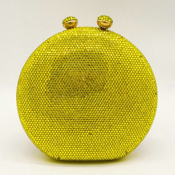 Yellow Crystal Bag