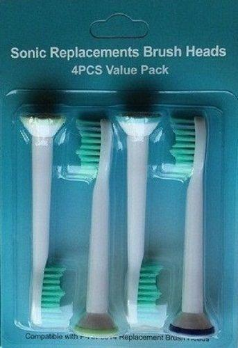 Cheap Electric toothbrush heads Compatible HX6014 HX6013 HX6011 1600pcs Brush Heads for Philips Sonicare Replacement Heads