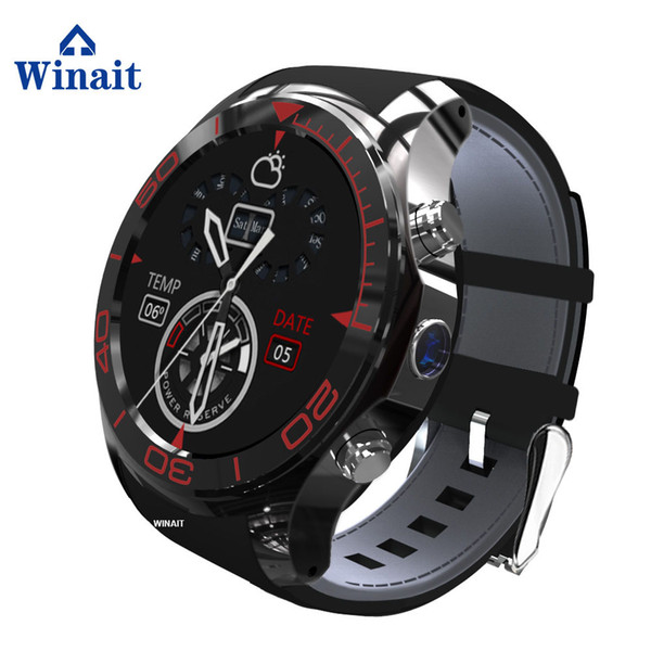 Winait WCDMA 3G android GSM smart phone watch with touch display and camera/gps/wif/heart rate
