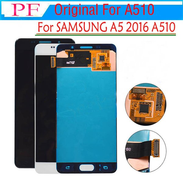 """ORIGINAL 5.2"""" AMOLED LCD for SAMSUNG Galaxy A5 2016 LCD Display A510 A510F A510M SM-A510F Touch Screen Digitizer LCD Replacement A510 +Tool"""