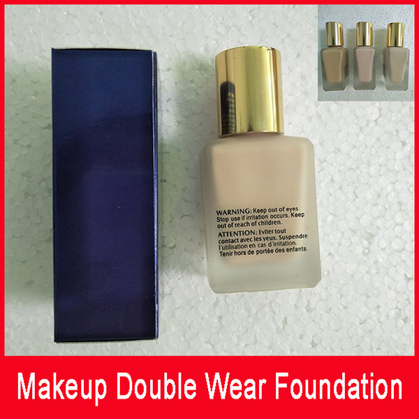 Hot sales ! New Makeup Double Wear Foundation 30ml 5 colors to choose good quality with best price fast free shipping