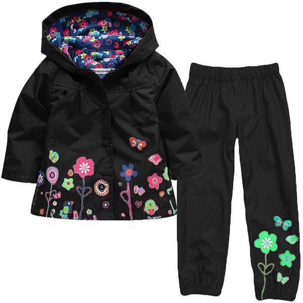 Kocotree Autumn Winter Girls Jacket Windbreaker Boys Jacket Kids Raincoat Trench Coat Children waterproof suit
