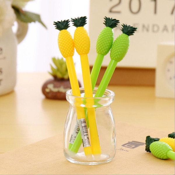 Ellen Brook 4 Pieces Korean Stationery Cute Erasable Advertising Gel Pen School Office Supplies Fashion Gift Variety of Styles