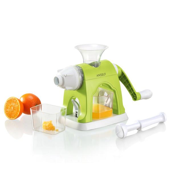 Manual Juicer Fruit Squeezer Blender Multifunctional Apple Lemon Juice Maker Cup Vegetables Machine Tools