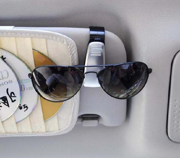 Livraison gratuite cadres lunettes de voiture clip lunettes de soleil décoration de voiture