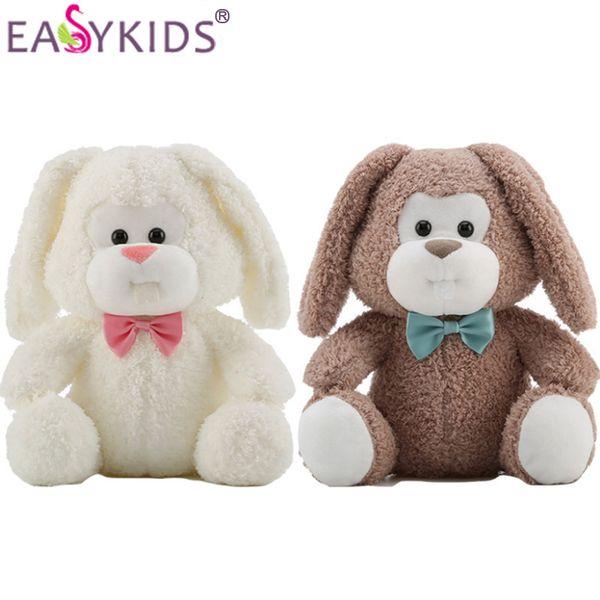 Lovely Kids Long Ear Rabbit Plush Doll Toys Stuffed Animal Baby Sleeping Doll Girls Big Eyes Bunny For Children Birthday Gifts