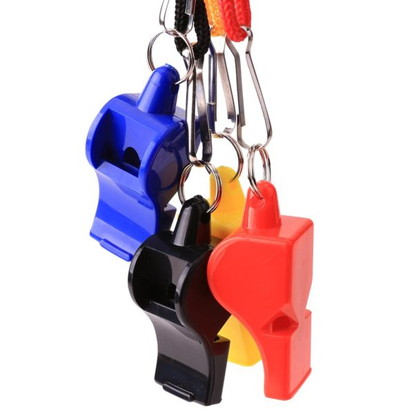 FOX 40 Classic Whistle EDCGEAR Sports Hockey Football Soccer Whistle 4 Colors Referee Plastic Whistle Outdoor Survival Wholesale B240S F