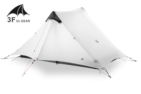 3F UL GEAR LanShan 2 Person Camping Tent No Pole Ultralight 3 Season Tent Outdoor Camp Equipment