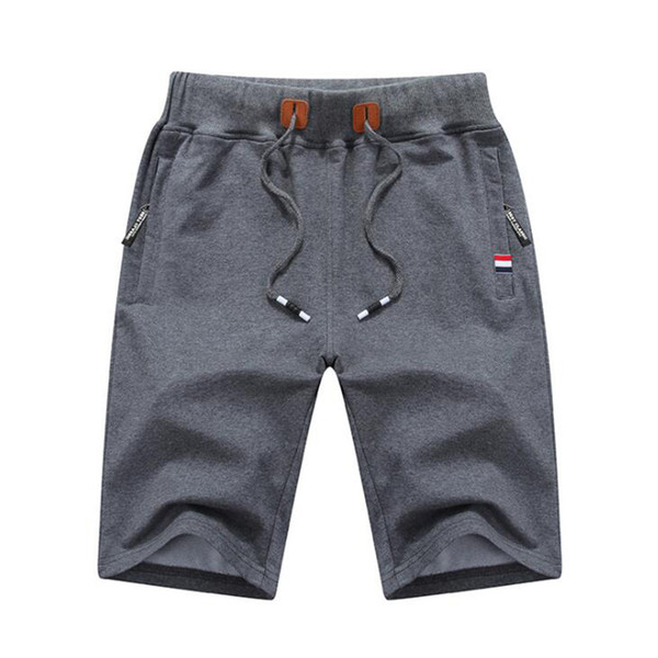 Summer Mens Beach Shorts Cotton Casual Male Shorts Solid Men's Shorts Brand Men Clothing free shipping