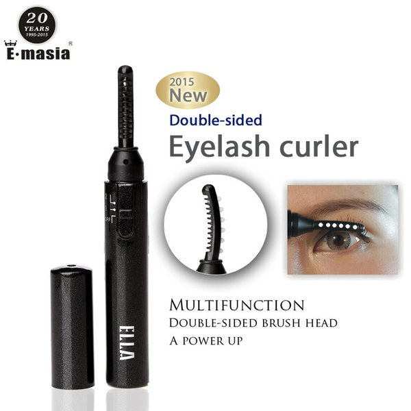 Portable Pen Style Double-sided Electric Heated Makeup Eye Lashes Long Lasting Eyelash Curler Roll Eye Lashes Curlers Make Up Props