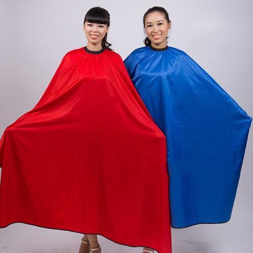 Men's Women's Salon Barber Hairdresser Hair Cutting Waterproof Cloth Gown Cape Random Color