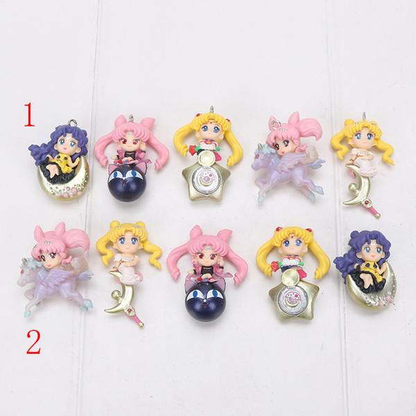 Acheter Set Sailor Moon Twinkle Dolly 3 Figure Jouet Chibi Lune Reine Sérénité Princesse Kaguya Black Lady Luna De 8 13 Du Kareem Dhgate Com