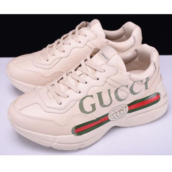 Mektuplar Ile yeni Marka Ayakkabı Baskılı Lüks Tasarımcı Ayakkabı Erkekler Kapalı Toe Kadınlar Için Yüksek Kaliteli Rahat Ayakkabılar Elastik bant