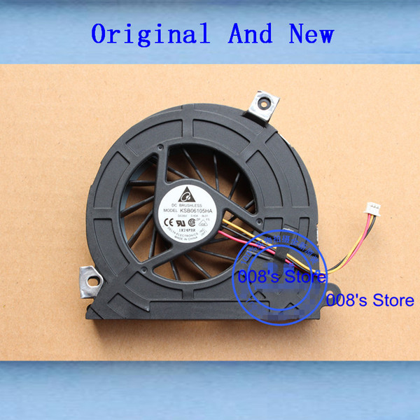 New Computer CPU Cooling Cooler Fan For ASUS ET2010 ET2010AGT ET2011AG One Machine PC For DELTA KSB06105HA 5V 0.40A -9L01 3 Pins