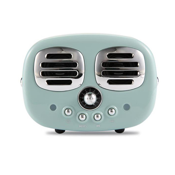 One Piece Retro Wireless Speakers Mini Portable New Classical Stereo Subwoofer Bluetooth Speaker Music Player Support TFcard Radio for gifts