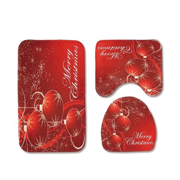 balle de Noël rouge