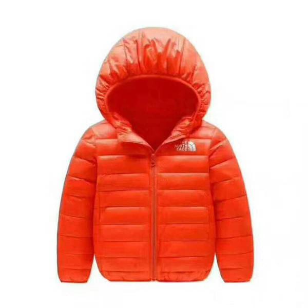 Marka NF Bebek Kış Ceketler Işık Çocuklar Beyaz Ördek Aşağı Ceket Bebek Ceket Kız Erkek Parka Kabanlar Hoodies Puffer Coat