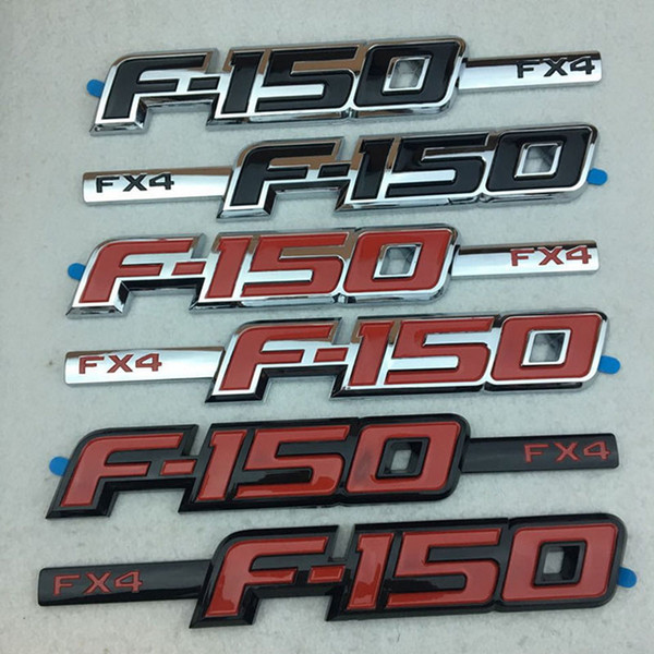 New 3D ABS F*4 F150 LOGO Car Sticker Body Side Emblem Decal Badge For Ford F150