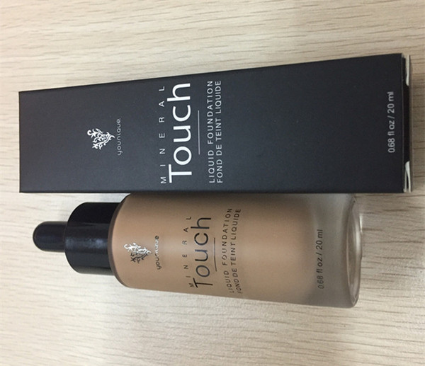 Younique Touch Liquid Foundation Concealer Cream Moodstruck Opulence BB Cream 10 color 20ml DHL freeshipping