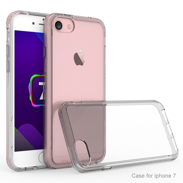 Ultra Thin Slim Transparent Acrylic Hard Back Case Cover For iPhone Xs Max XR 8 7 6s 5s Samsung S9 A8 2018 Clear Case