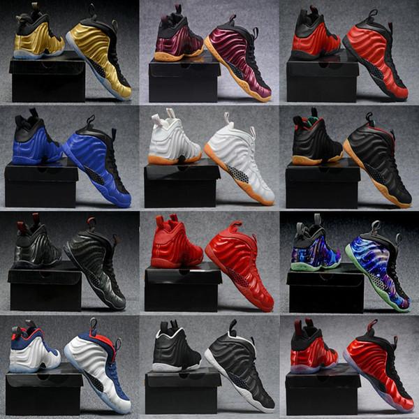2018 Cheap Best Basketball Chaussures Penny Hardaway Hommes Sneakers De Sport Mousse Un Aubergine Violet Hommes Basket Ball Chaussures Confort et Soutien