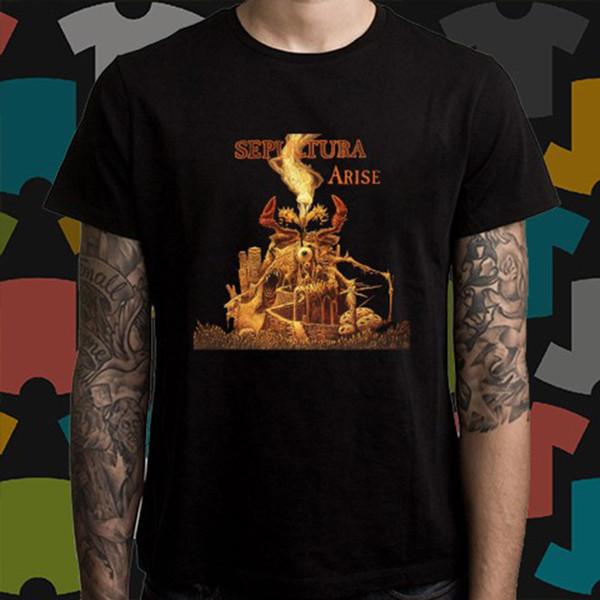 Sepultura logo BLACK model:5 t-shirt Sepultura BAND clothing boy girl children