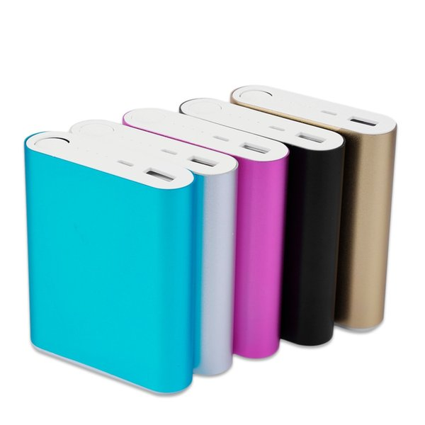 10400mAh DIY Power Bank 4*18650 Battery Box Case Kit Universal USB External Backup Battery Charger Powerbank For All Cell Phones