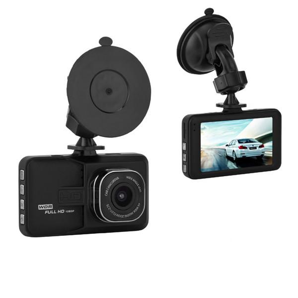 3 polegada de carro DVR filmadora auto registrador dashcam veículo gravador de vídeo HD 1080 P 140 ° WDR G-sensor de estacionamento