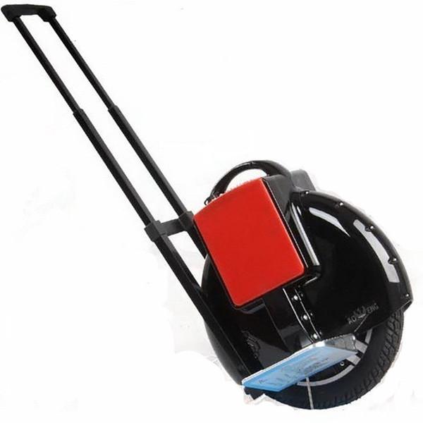 Bluetooth Monowheel Bir Tekerlek Hoverboard Elektrikli unicycle Monosikle Eğitim Tekerlek Itme Çubuğu ile Öz denge Scooter Denize