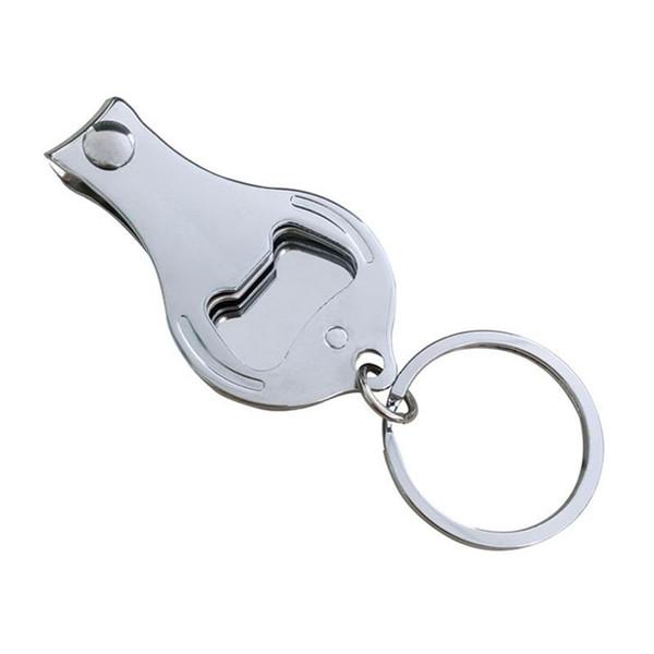 Nuovo Logo Keychain Bottle Opener Buckle Keys Anello Festival Regali per feste Nails Clippers Multi Function Nail Cutters Firm Durevole Vendita calda 0 9zx