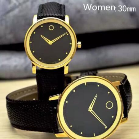 Spherical Tactful Mens Luxury Brand Relojes Correa de cuero de alta calidad de cuarzo Big Promotion Ultra-Thin Classic reloj de pulsera Chrono Chronograph
