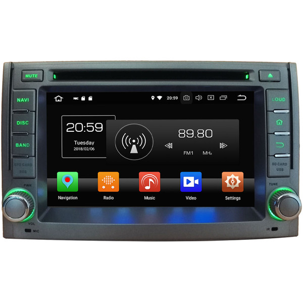 4GB RAM Android 8.0 Octa Core Car DVD Player GPS Sat Navi Stereo para HYUNDAI H1 Grand Starex 2007-2012 Radio Headunit Deckless