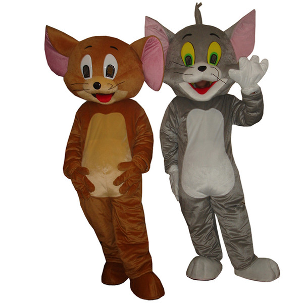 Tom and jerry Mascot Costume together with lower price for Adult animal Halloween party sale free  sc 1 st  DHgate.com & Tom And Jerry Mascot Costume Together With Lower Price For Adult ...