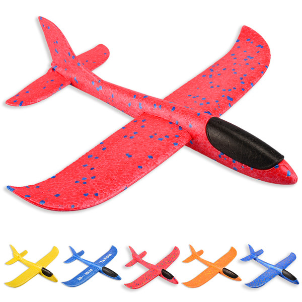 50CM Hand Launch Throwing Foam Palne EPP Airplane Model Plane Glider Aircraft Model Outdoor DIY Educational Toys for children