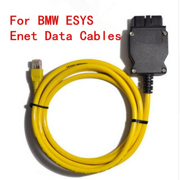 2018 New ESYS 3.23.4 V50.3 Data Cable For bmw ENET Ethernet to OBD Interface E-SYS ICOM Coding for F-serie