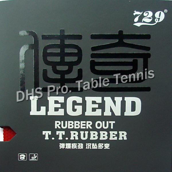RITC 729 Dostluk LEGEND orta tırtıl-out masa tenisi pingpong kauçuk sünger ile