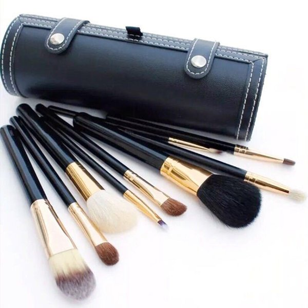 M brand Makeup brushes sets cosmetics brush 9 pcs kits Wooden handle make up brush tools Powder Contour brushes DHL free shipping Hot