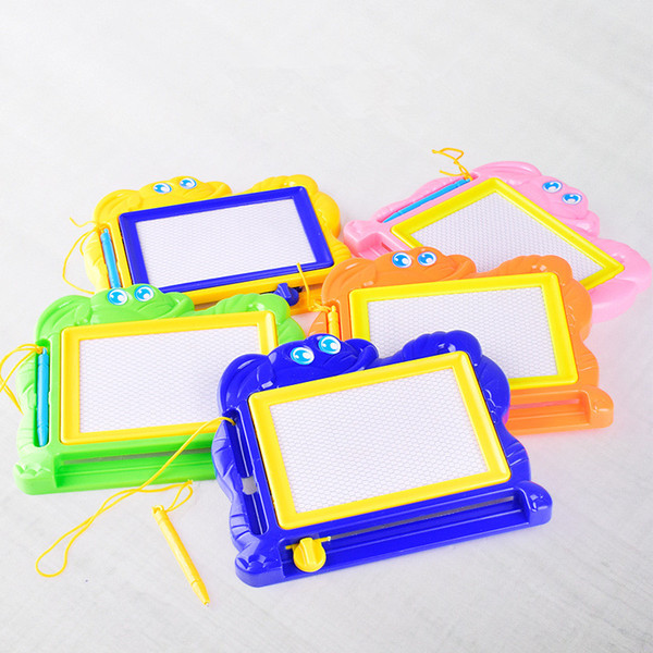 Hot Plastic Magnetic Cartoon Children Aqua Doodle Drawing Board Toys Early Learning Education Drawing Toys Gift For Kids